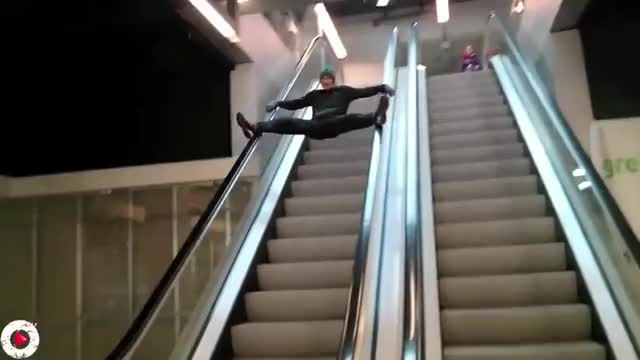 Watch and share Escalators GIFs and Elevators GIFs by Reactions on Gfycat