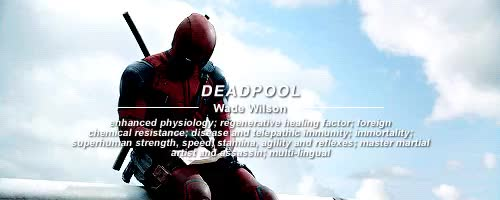 Watch Deadpool characters GIF on Gfycat. Discover more *, deadpool, failedthecity, i think I'm gonna do this 4 like every superhero movie, marveledit, maxsrockatansky GIFs on Gfycat