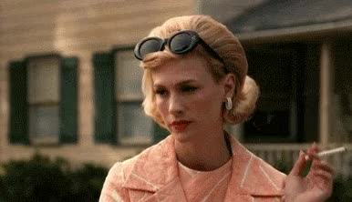 Watch and share Glasses GIFs and Mad Men GIFs on Gfycat