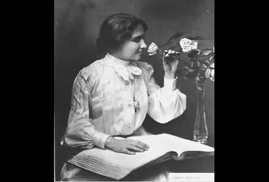 """Watch and share HELEN KELLER 1919 Silent Film. """"Deliverance"""" Clips (Rare) GIFs on Gfycat"""
