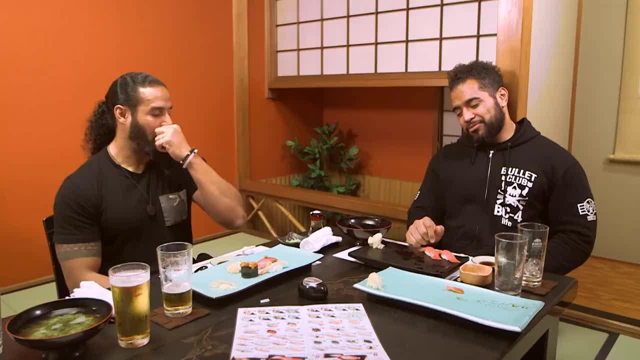 NJPW OnTheRoad : Tama Tonga #2 GIFs