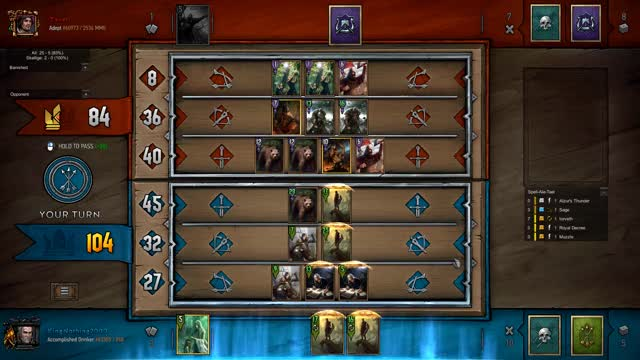 Watch The Math GIF by KingNothing2000 (@kingnothing2000) on Gfycat. Discover more Gwent, Gwent: The Witcher Card Game, King, King Nothing, Moments, Nothing, Nothing but King Moments GIFs on Gfycat