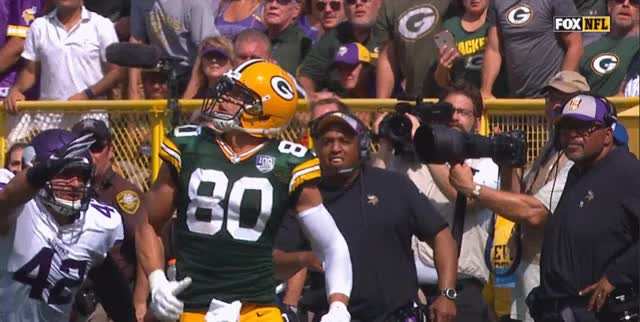 Watch Vikings-Jimmie Graham Interference GIF on Gfycat. Discover more related GIFs on Gfycat