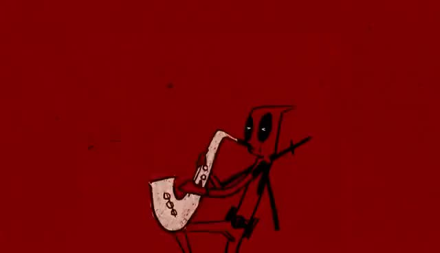 Watch and share Wham! ~ Careless Whisper -- Deadpool GIFs on Gfycat