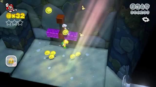 Super Mario 3D World - Walkthrough Part 1 - World 1 100% (Nintendo