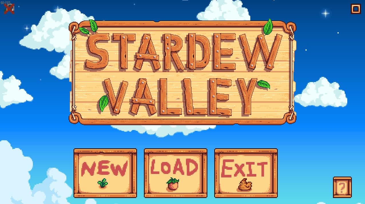 StardewValley, stardewvalley, Stardew Valley Menu Secrets GIFs
