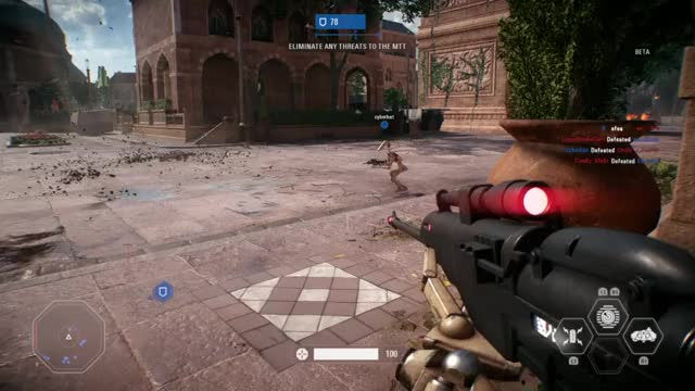 Watch and share STAR WARS™ Battlefront™ II Multiplayer Beta_20171006122117 GIFs on Gfycat