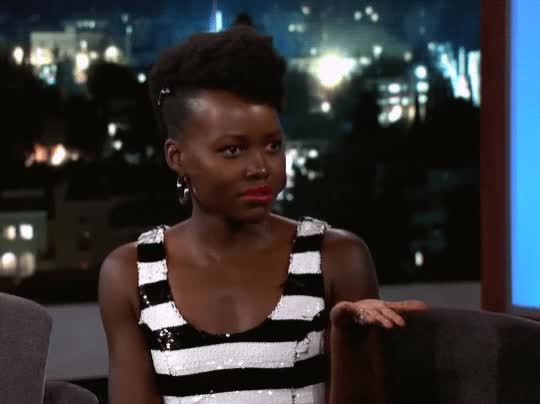 Watch this trending GIF by The GIF Smith (@sannahparker) on Gfycat. Discover more confused, huh, jimmy kimmel live, lupita nyongo, puzzled, what, wtf GIFs on Gfycat