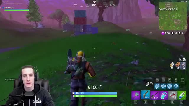 Watch and share Sevigor Playing Fortnite - Twitch Clips GIFs by Sevigor on Gfycat