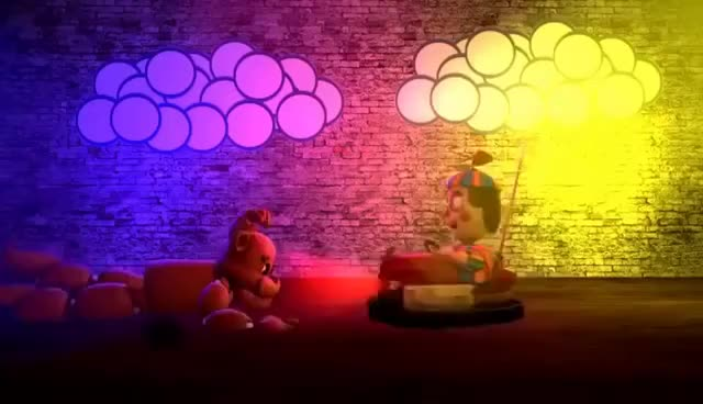 Watch and share [FNAF] Bumper Cars GIFs on Gfycat