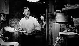 Watch nice GIF on Gfycat. Discover more 1960, Billy Wilder, I LOVE THIS MOVIE FIGHT ME, Jack Lemmon, My Gifs, Shirley MacLaine, The Apartment, theapart* GIFs on Gfycat