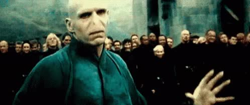 Watch and share Harry Potter GIFs and Voldemort GIFs on Gfycat