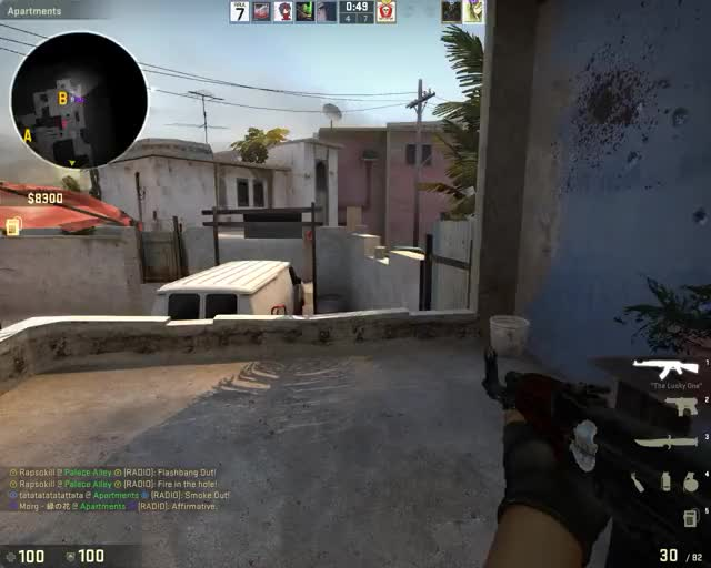 Simply outplayed