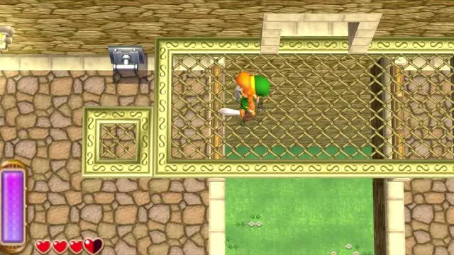 Watch and share Zelda A Link Between Worlds From A Brand New Angle - Boundary Break GIFs by temk1s on Gfycat
