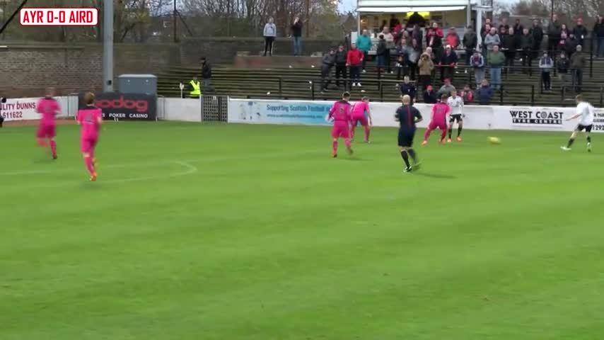 scottishfootball, Jordan Preston volley for Ayr United v Airdrieonians (reddit) GIFs