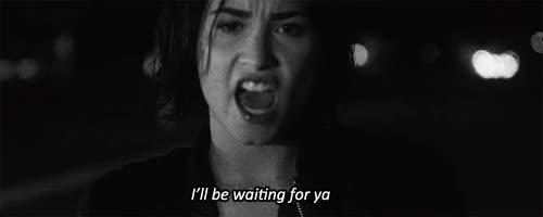 Watch and share Demetria, Demi Lovato, Gif, Gifs, Queen, Waitin For You GIFs on Gfycat