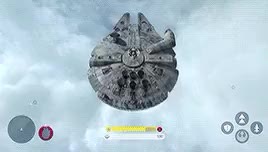 Watch and share Millennium Falcon GIFs and Fighter Squadron GIFs on Gfycat