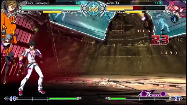 Watch and share BBCF 11/22/2016 JP PSN Replays GIFs by pianonox on Gfycat