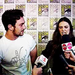 Watch and share Aaron Taylor Johnson GIFs and Elizabeth Olsen GIFs on Gfycat