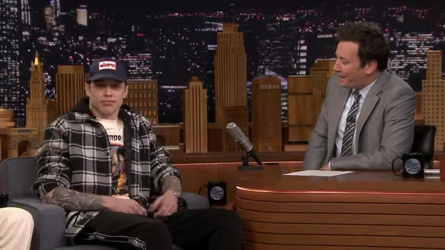 Watch this pete davidson GIF on Gfycat. Discover more ariana grande, being engaged, celebrity, celebs, f***ing lit, funny, jimmy fallon, nbc, nbc tv, pete davidson, television, the tonight show GIFs on Gfycat