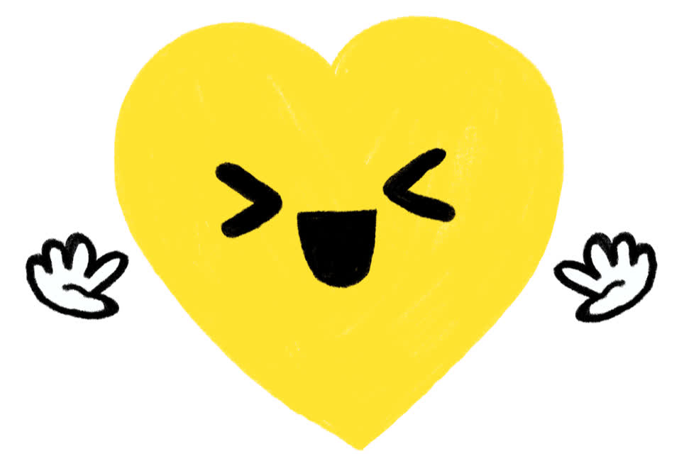 adorable, cute, excited, geo law, happy, hearts, love, Happy Heart GIFs