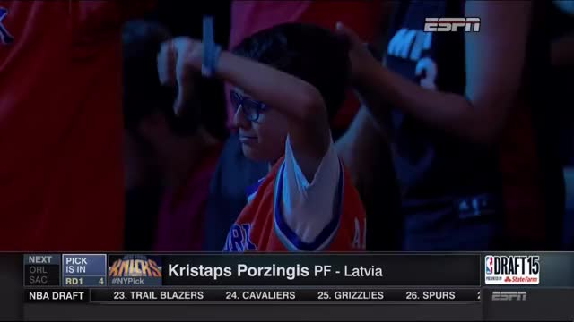 Watch and share Kristaps Porzingis GIFs and New York Knicks GIFs on Gfycat