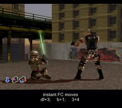 Watch TEKKEN 3 Yoshimitsu - secret moves, rare custom combos 1.3 GIF on Gfycat. Discover more related GIFs on Gfycat