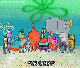 Watch and share Krabs,#larry The Lobster,#larry,#pearl,#s2,#bubble Buddy,#gifs,#squidward, GIFs on Gfycat