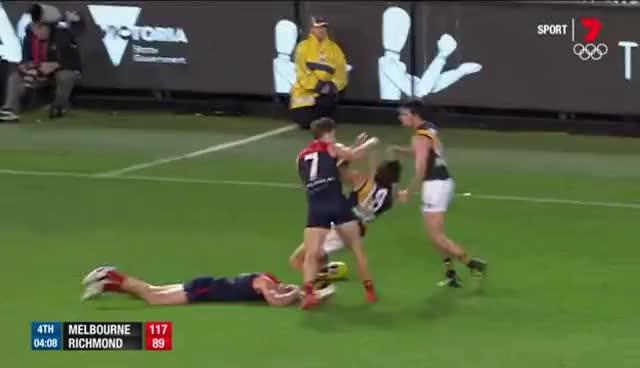 All Tags, Football, Footy, Highlights, afl, goals, handballs, kicks, marks, Rance on report - AFL GIFs