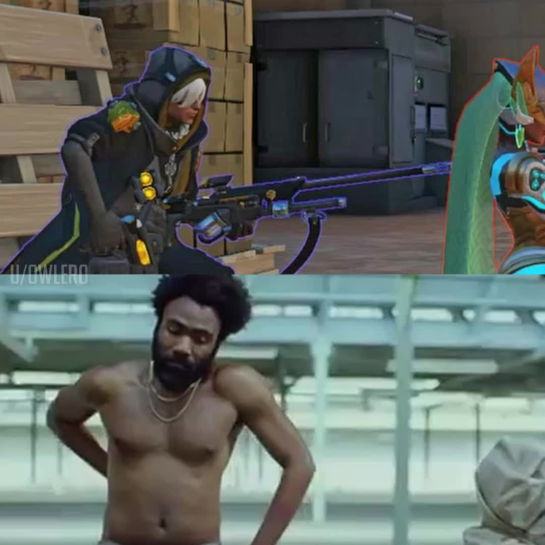 childish gambino, overwatch, This is Overwatch GIFs