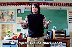 Watch School of Rock Jack Black newgifs changchens *sor GIF on Gfycat. Discover more related GIFs on Gfycat