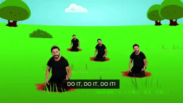 Watch and share Shia Labeouf GIFs and Do It GIFs on Gfycat