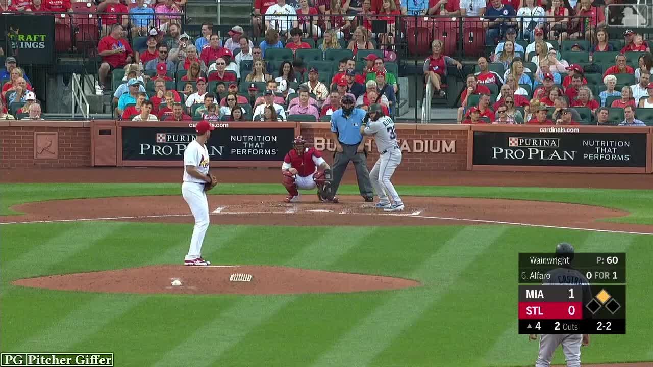 adam wainwright, baseball, cardinals, mlb, sports, st louis cardinals, Adam Wainwright CB 6-20 GIFs