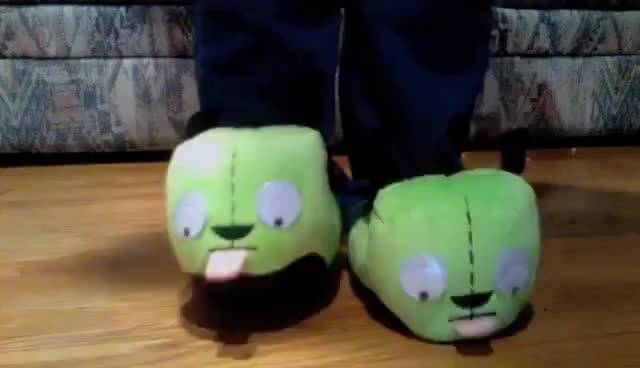 Watch and share Slippers GIFs and Gir GIFs on Gfycat