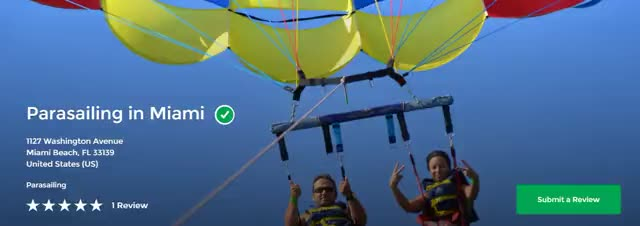Watch and share Parasailing In Miami GIFs by parasailingmiami on Gfycat