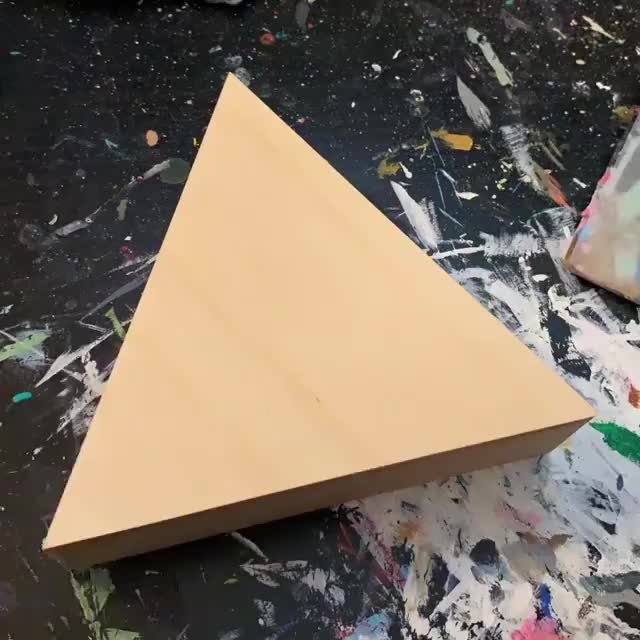 The Obanoth - Hannah Webb, Building up an acrylic painting, by TheObanoth GIFs