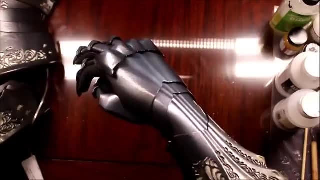 Watch and share An Intricate 3D Printed Gauntlet GIFs by tothetenthpower on Gfycat