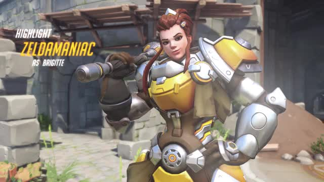 Watch Get Down Mister President! GIF by @zeldamaniac on Gfycat. Discover more brigitte, overwatch GIFs on Gfycat