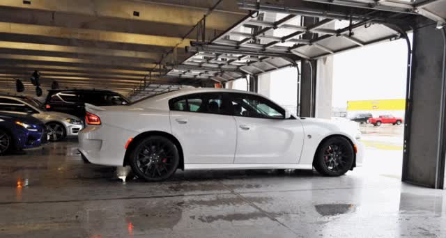 Watch and share Dodge Charger HELLCAT GIFs on Gfycat