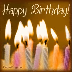 Watch and share Birthday Candles - Animation Newest Pictures Animated GIFs on Gfycat