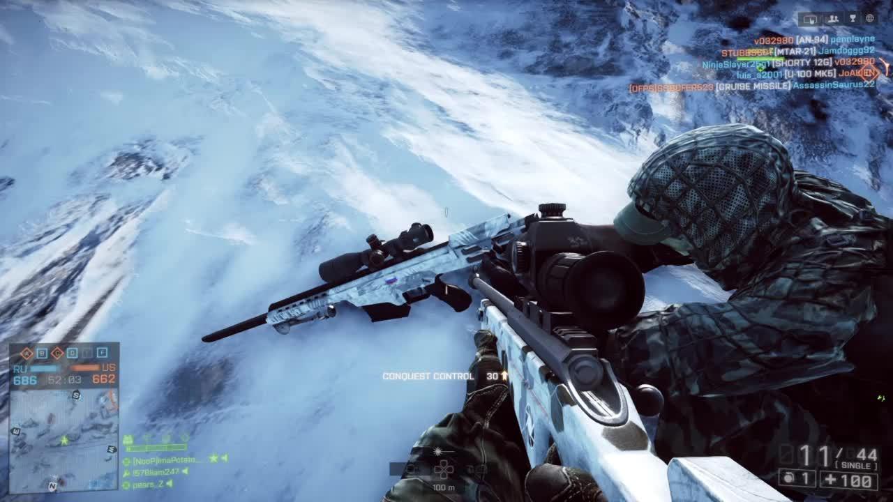 YouSeeComrade, battlefield 4, glitches, Battlefield 4 Dual Glitch GIFs