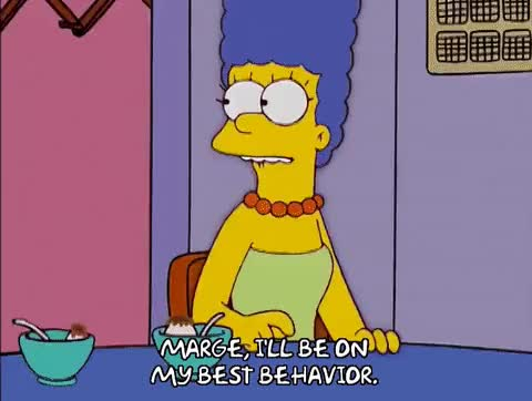 Watch Marge Worried GIF on Gfycat. Discover more related GIFs on Gfycat