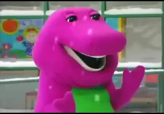 Watch Barney in the Snow GIF on Gfycat. Discover more barney, snow GIFs on Gfycat