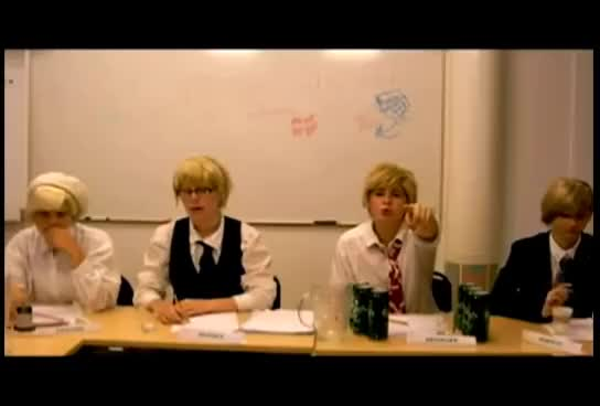 Watch Su-san and Denny GIF on Gfycat. Discover more cosplay, denmark, hetalia, sweden GIFs on Gfycat