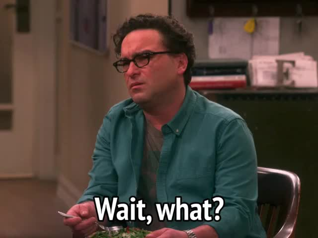 Watch this big bang theory GIF by MikeyMo (@mikeymo) on Gfycat. Discover more big bang theory, celebs, confused, johnny galecki, puzzled, the big bang theory, what GIFs on Gfycat
