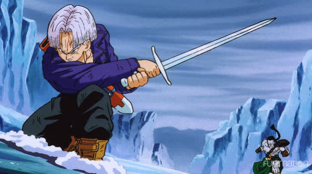 Trunks with the pose GIFs