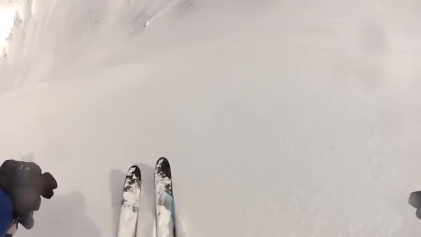 Watch Skier falls trying to outrun an avalanche GIF on Gfycat. Discover more nononono GIFs on Gfycat