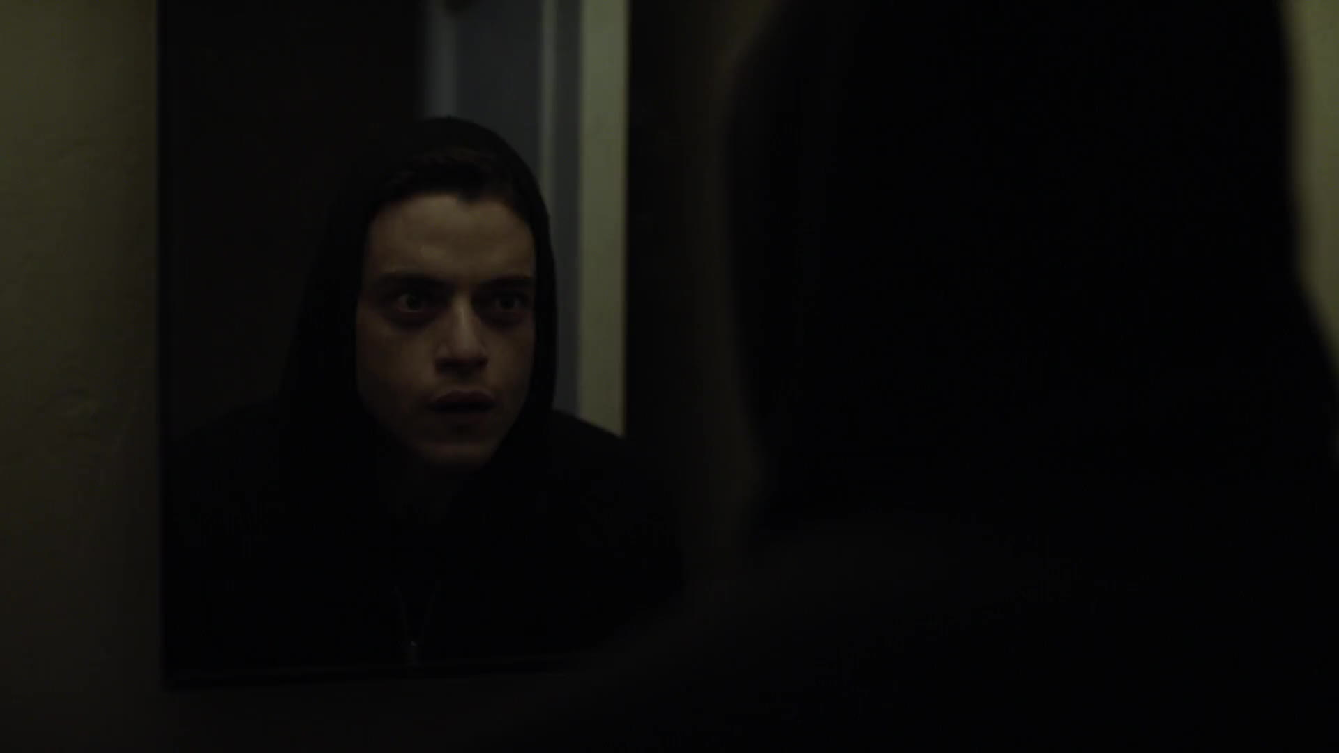 MrRobot, mirror, mr robot, Is it your reflection staring back? GIFs