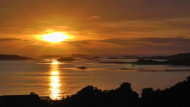 Watch and share The Isles Of Scilly GIFs and Beautiful Sunset GIFs by Cindy Bustillos on Gfycat