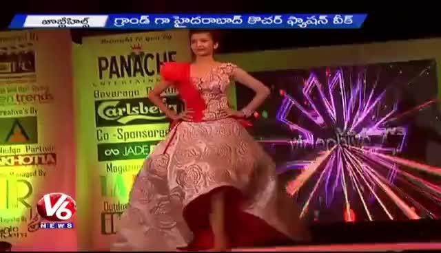 Hyderabadi Fashion Designer Ashwini Reddy S Fashion Show At Jubilee Hills Intern Gfycat